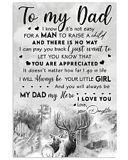 TO MY DAD - MB277 11x17 Poster front