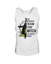 I AM DESCENDED FROM THAT WITCH Unisex Tank thumbnail