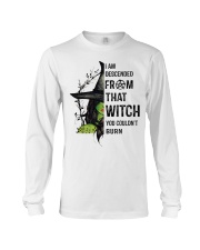 I AM DESCENDED FROM THAT WITCH Long Sleeve Tee thumbnail
