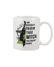 I AM DESCENDED FROM THAT WITCH Mug thumbnail
