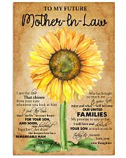 TO MY FUTRE MOTHER IN LAW Vertical Poster tile