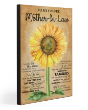TO MY FUTRE MOTHER IN LAW 20x30 Gallery Wrapped Canvas Prints front