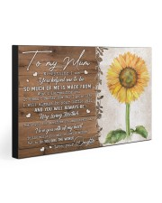 TO MY MUM FROM DAUGHTER 30x20 Gallery Wrapped Canvas Prints thumbnail