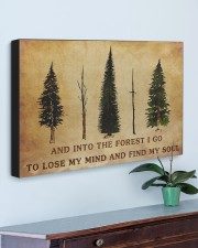 INTO THE FOREST I GO  30x20 Gallery Wrapped Canvas Prints aos-canvas-pgw-30x20-lifestyle-front-01