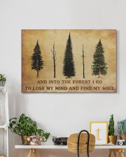INTO THE FOREST I GO  30x20 Gallery Wrapped Canvas Prints aos-canvas-pgw-30x20-lifestyle-front-03