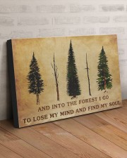 INTO THE FOREST I GO  30x20 Gallery Wrapped Canvas Prints aos-canvas-pgw-30x20-lifestyle-front-07