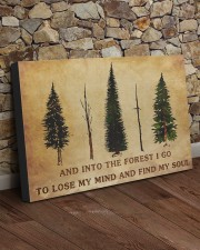 INTO THE FOREST I GO  30x20 Gallery Wrapped Canvas Prints aos-canvas-pgw-30x20-lifestyle-front-21