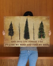 INTO THE FOREST I GO  30x20 Gallery Wrapped Canvas Prints aos-canvas-pgw-30x20-lifestyle-front-22