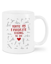 MY FAVORITE THING TO DO  Mug front