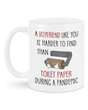 IS HARDER TO FIND THAN TOILET PAPER Mug back