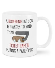 IS HARDER TO FIND THAN TOILET PAPER Mug front