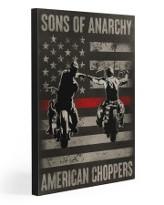 AMERICAN CHOPPERS 20x30 Gallery Wrapped Canvas Prints front