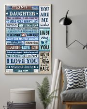 TO MY DAUGHTER - MB330 16x24 Poster lifestyle-poster-1