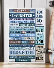 TO MY DAUGHTER - MB330 16x24 Poster lifestyle-poster-4