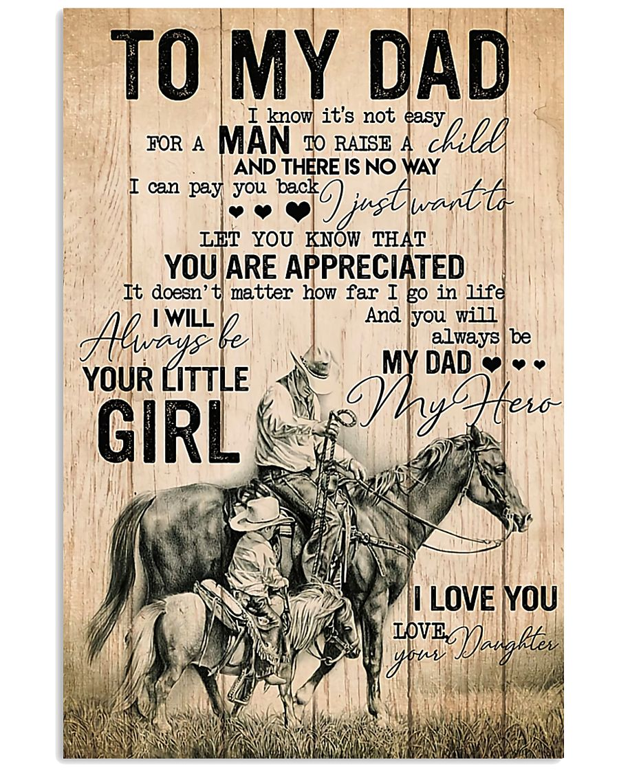 TO MY DAD - MB273 11x17 Poster