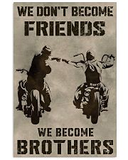 WE BECOME BROTHERS Vertical Poster tile