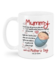 HAPPY FIRST MOTHER'S DAY Mug back