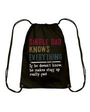 SINGE DAD KNOWS EVERYTHING - MB225 Drawstring Bag thumbnail