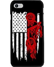 BIKE AMERICAN FLAG - MB244 Phone Case thumbnail