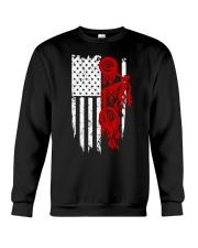 BIKE AMERICAN FLAG - MB244 Crewneck Sweatshirt thumbnail