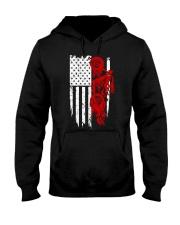 BIKE AMERICAN FLAG - MB244 Hooded Sweatshirt thumbnail