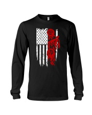 BIKE AMERICAN FLAG - MB244 Long Sleeve Tee thumbnail