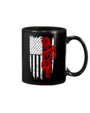 BIKE AMERICAN FLAG - MB244 Mug thumbnail