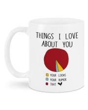 THINGS I LOVE ABT YOU  Mug back