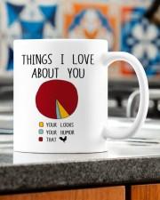 THINGS I LOVE ABT YOU  Mug ceramic-mug-lifestyle-57