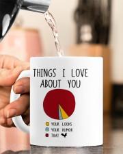 THINGS I LOVE ABT YOU  Mug ceramic-mug-lifestyle-65
