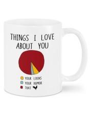 THINGS I LOVE ABT YOU  Mug front