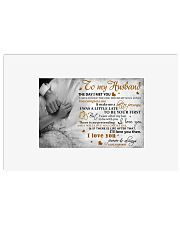 TO MY HUSBAND - MB316 36x24 Poster front