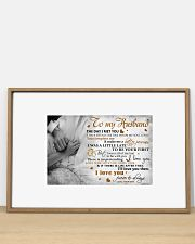 TO MY HUSBAND - MB316 36x24 Poster poster-landscape-36x24-lifestyle-03