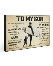 TO MY SON  30x20 Gallery Wrapped Canvas Prints front