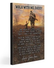 WALK WITH ME DADDY 20x30 Gallery Wrapped Canvas Prints front