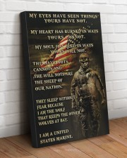I AM A US MARINE  20x30 Gallery Wrapped Canvas Prints aos-canvas-pgw-20x30-lifestyle-front-14