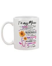 TO MY MOM  Mug back