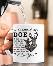 TO MY SMOKIN' HOT DOE  Mug ceramic-mug-lifestyle-65