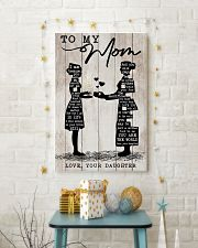 TO MY MOM - NURSE 24x36 Poster lifestyle-holiday-poster-3
