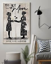 TO MY MOM - NURSE 24x36 Poster lifestyle-poster-1