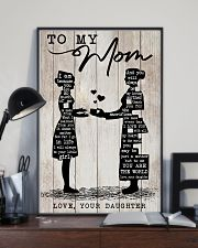 TO MY MOM - NURSE 24x36 Poster lifestyle-poster-2