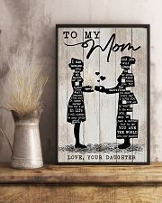 TO MY MOM - NURSE 24x36 Poster lifestyle-poster-3
