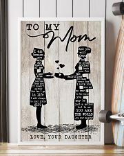 TO MY MOM - NURSE 24x36 Poster lifestyle-poster-4