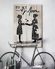 TO MY MOM - NURSE 24x36 Poster lifestyle-poster-7