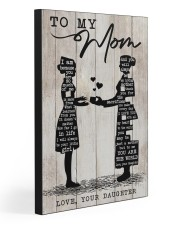 TO MY MOM - NURSE 20x30 Gallery Wrapped Canvas Prints thumbnail