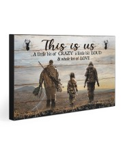 THIS IS US  30x20 Gallery Wrapped Canvas Prints front