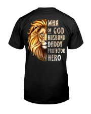MAN OF GOD - MB256 Classic T-Shirt back