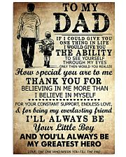 TO MY DAD - MB245 11x17 Poster front