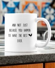 YOU HAPPEN TO HAVE THE BEST COCK EVER  Mug ceramic-mug-lifestyle-57