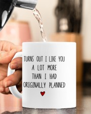 YOU HAPPEN TO HAVE THE BEST COCK EVER  Mug ceramic-mug-lifestyle-65